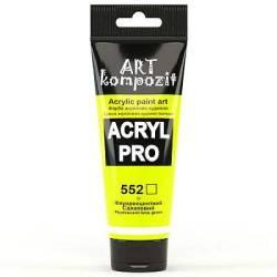 552 Флуоресцентний салатовий Acril PRO