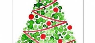 Акриловые краски для новогоднего декора