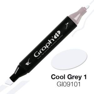G09101 Холодный серый 1 Graph'it маркер