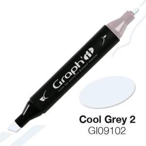 G09102 Холодный серый 2 Graph'it маркер