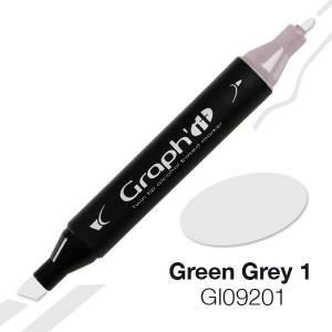 G09201 Зелено-серый 1 Graph'it маркер