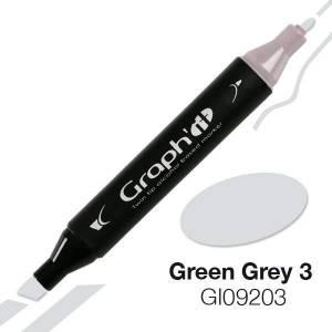 G09203 Зелено-серый 3 Graph'it маркер