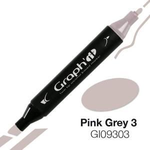 G09303 Розово-серый 3 Graph'it маркер