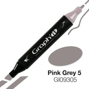 G09305 Розово-серый 5 Graph'it маркер