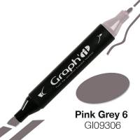 G09306 Розово-серый 6 Graph'it маркер
