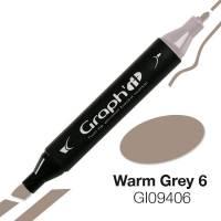 G09406 Теплый серый 6 Graph'it маркер