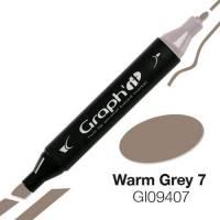 G09407 Теплый серый 7 Graph'it маркер