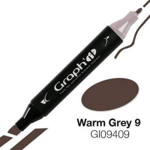 G09409 Теплый серый 9 Graph'it маркер