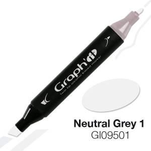 G09501 Нейтральный серый 1 Graph'it маркер