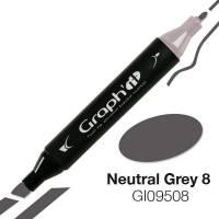 G09508 Нейтральный серый 8 Graph'it маркер