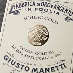 Поталь золота і мідна Giusto Manetti