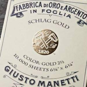 Поталь срібна Giusto Manetti