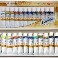 Набір олійних фарбк  Ладога  12 кольорів, 18 мл