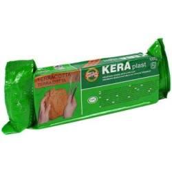 Пластилин Keraplast терракотовый 1кг
