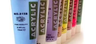 Акриловые краски Marie's acrylic (Китай)