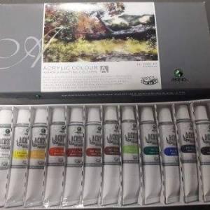 Набір акрилових фарб Marie's 12 кольорів