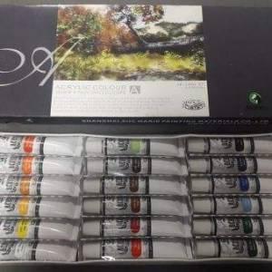 Набор акриловых красок Marie's 18 цветов