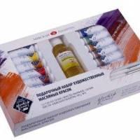 Набор подарочный масляных красок МК 12 цветов по 18 мл