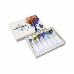 Набор масляных красок МК 6 цветов по 46 мл