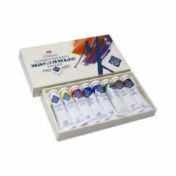 Набор масляных красок МК 8 цветов по 18 мл