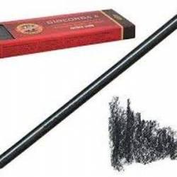 Уголь искусственный грифель Gioconda, 5.6*120 мм, очень мягкий
