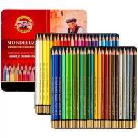 Набори акварельних олівців Mondeluz