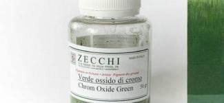 Пігменти зелені Zecchi