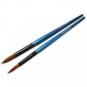 Кисти Shine Blue синтетические круглые Regina #10213