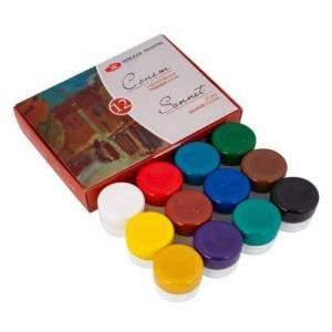 Набір гуаші Сонет 12 кольорів, 20мл
