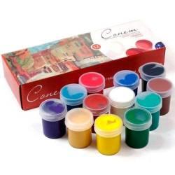 Набір гуаші Сонет 12 кольорів, 40мл
