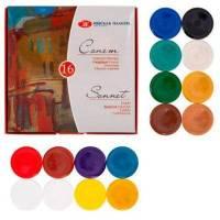 Набір гуаші Сонет 16 кольорів, 20мл