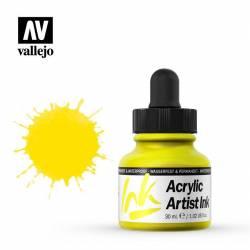 002 Желтый основной Acrylic Artist ink