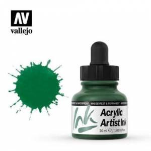 013 Зеленый темный Acrylic Artist ink