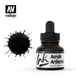 024 Черный перламутровый Acrylic Artist ink