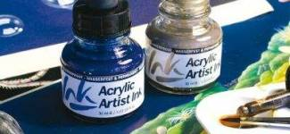 Acrylic Artist ink (Vallejo, Испания)